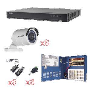 Kit CCTV 8 cámaras