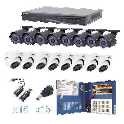 Kit CCTV 16 cámaras