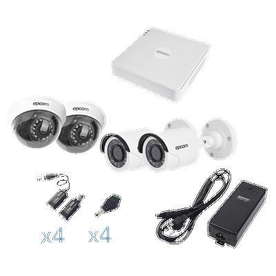 Kit CCTC 4 cámaras